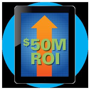 $50 Million ROI