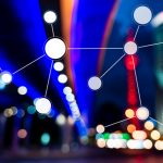 Smart city and communication network concept