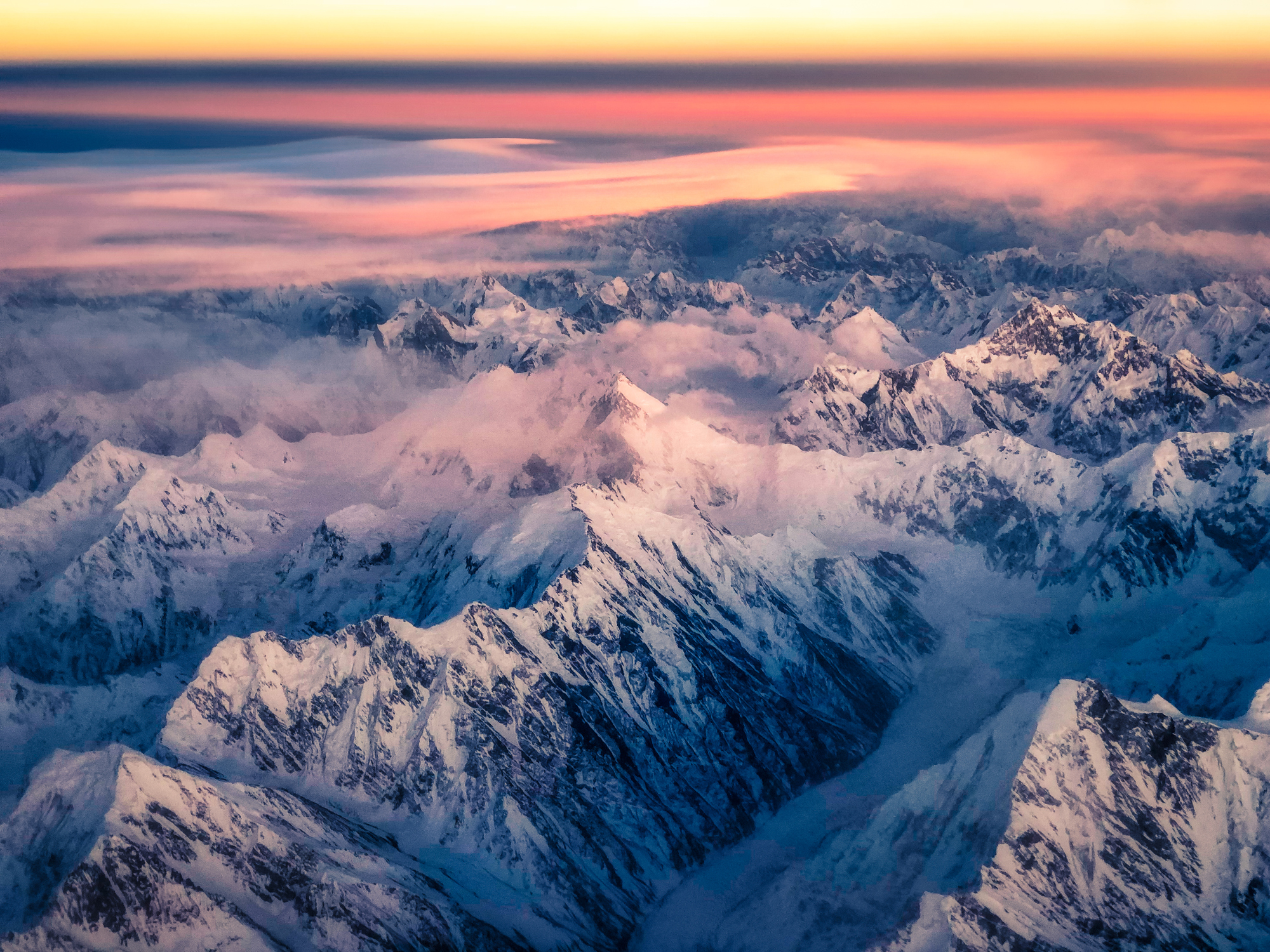Mountain ranges in Kashmir